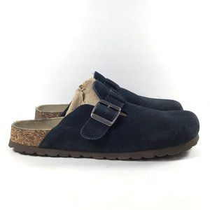 Cliffs by White Mountain Getty Clog Navy Suede 8